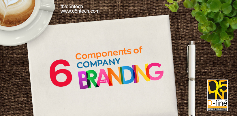 6 COMPONENTS OF COMPANY BRANDING