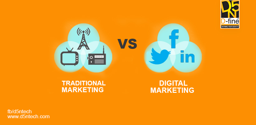 IS DIGITAL MARKETING BETTER THAN TRADITIONAL MARKETING